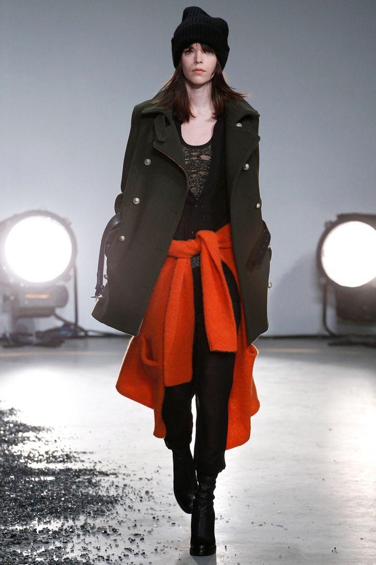 Пальто в стиле милитари Zadig & Voltaire