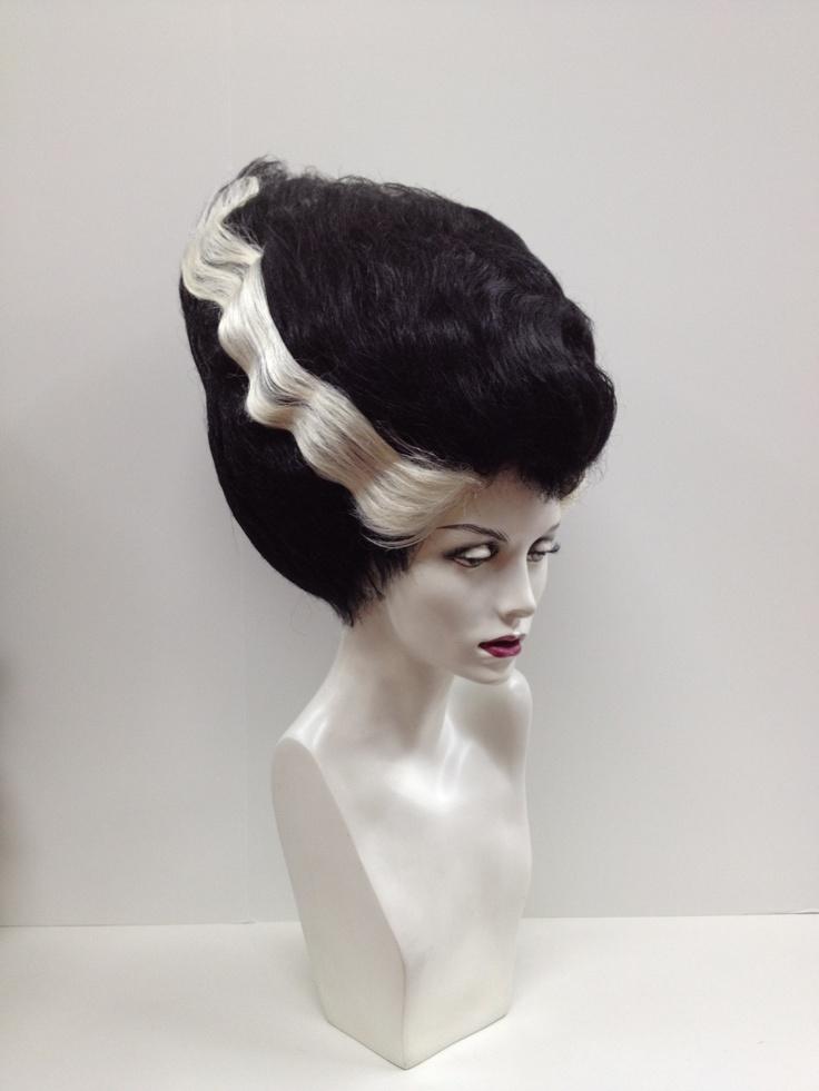 Bride of Frankenstein wig hhhmmmmm another consideration!