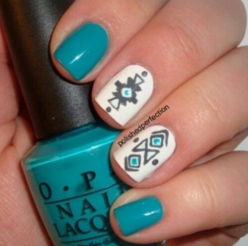Tribal Art Nails Gallery Easy Nail Designs For Beginners Step By Step