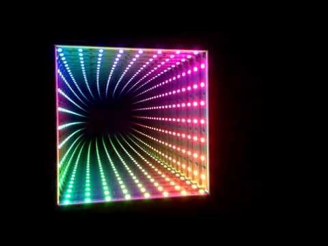 Dreamcolor RGB LED Infinity Mirror - YouTube