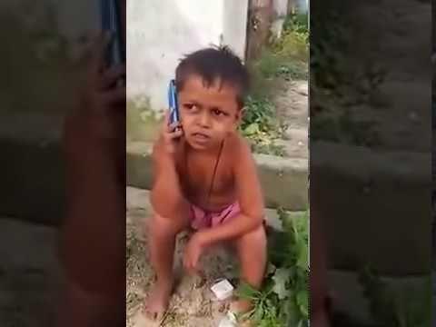 Videos For Fun: Mast little boy full funny video 2017 in comedy hi...