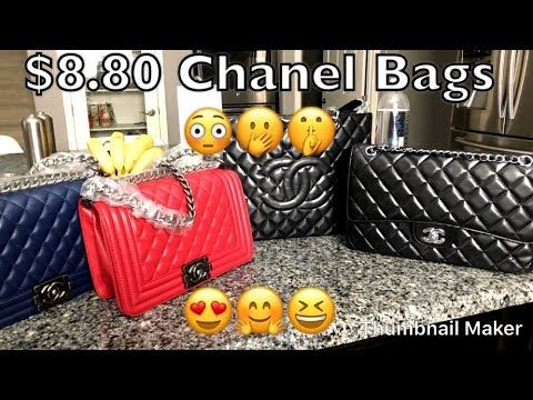 8eb385dfff98 Bougie on a Budget - ioffer Chanel Replica Knockoff Bags - YouTube ...
