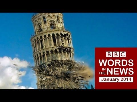 Words in the News 14/01b with transcript video: Tower of Pisa; Grand Canyon 'formed recently'; Vodka link to Russian early death