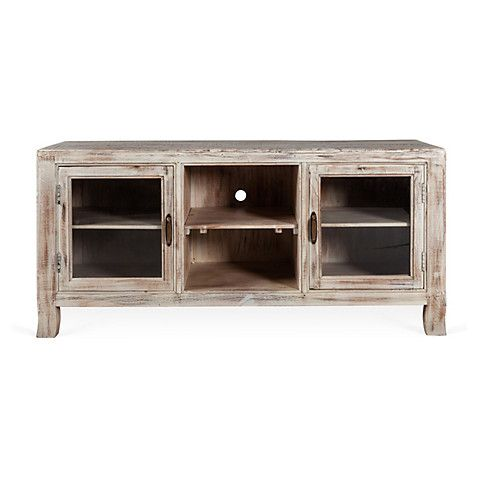 """Cora 65"""" Media Stand, Reclaimed Wood"""