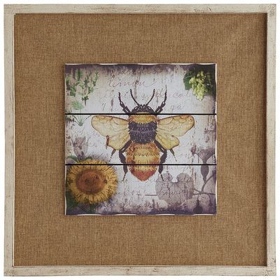 Bee wall decor home sweet home pinterest for Bee decorations for the home