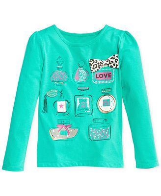 Epic Threads Little Girls' Mix & Match Graphic Tee