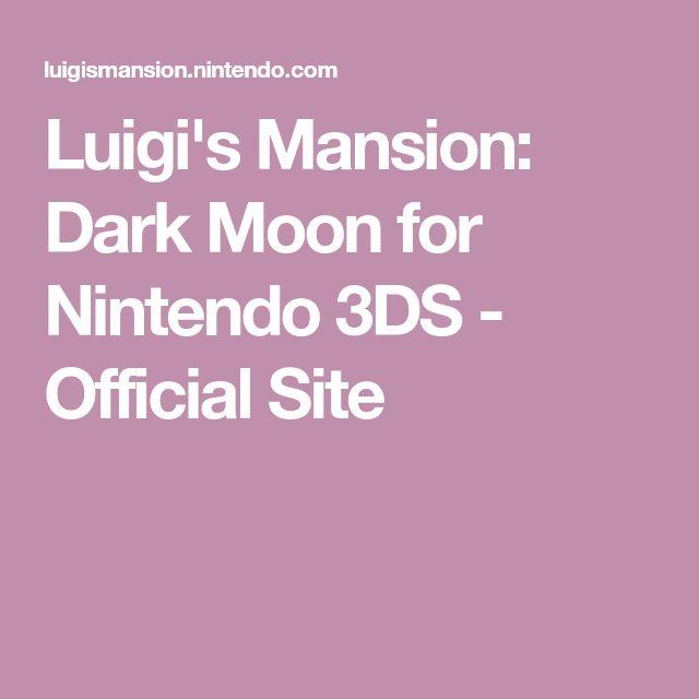 Luigi's Mansion: Dark Moon for Nintendo 3DS - Official Site