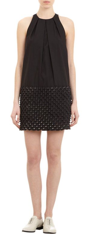 Kenzo Egg Crate-Skirt Sleeveless Shift at Barneys.com