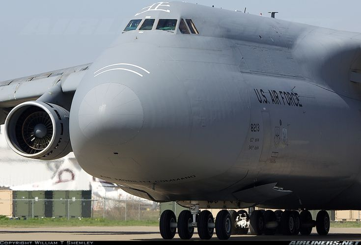Lockheed C-5C Galaxy (L-500) - USA - Air Force | Aviation Photo #1711429 | Airliners.net