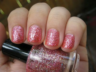 Etsy brand Paris Sparkles nail polish. Click for more photos and review!