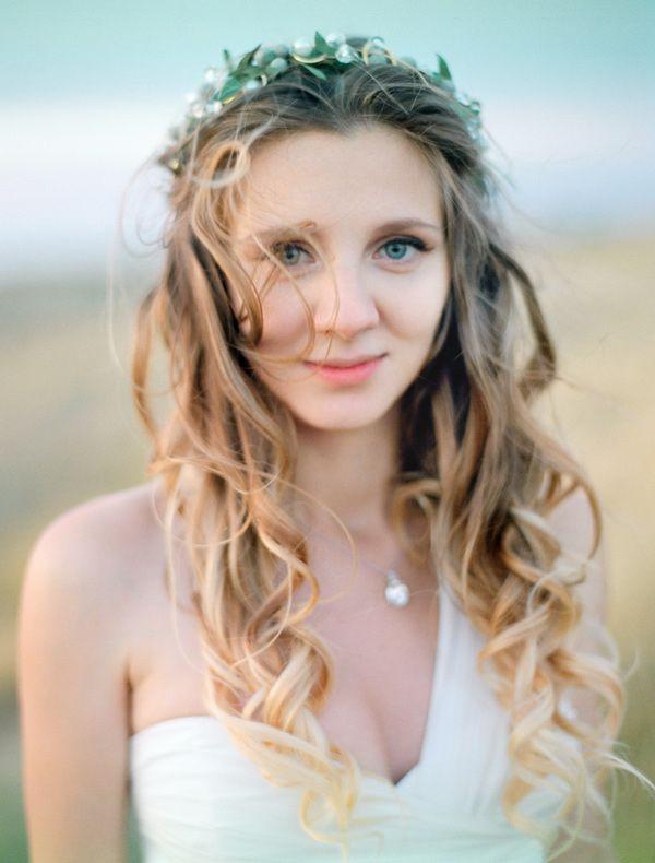 Образ невесты. Летний венок невесты. Фотограф: Максим Колибердин