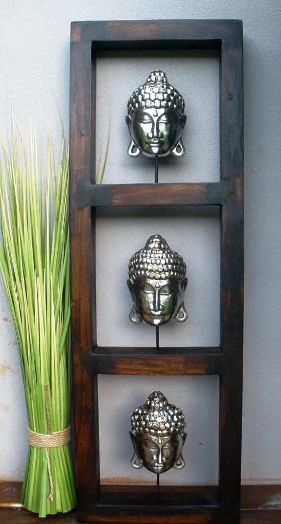 Timber Buddha Frame Home Decor www.balimystique.com.au