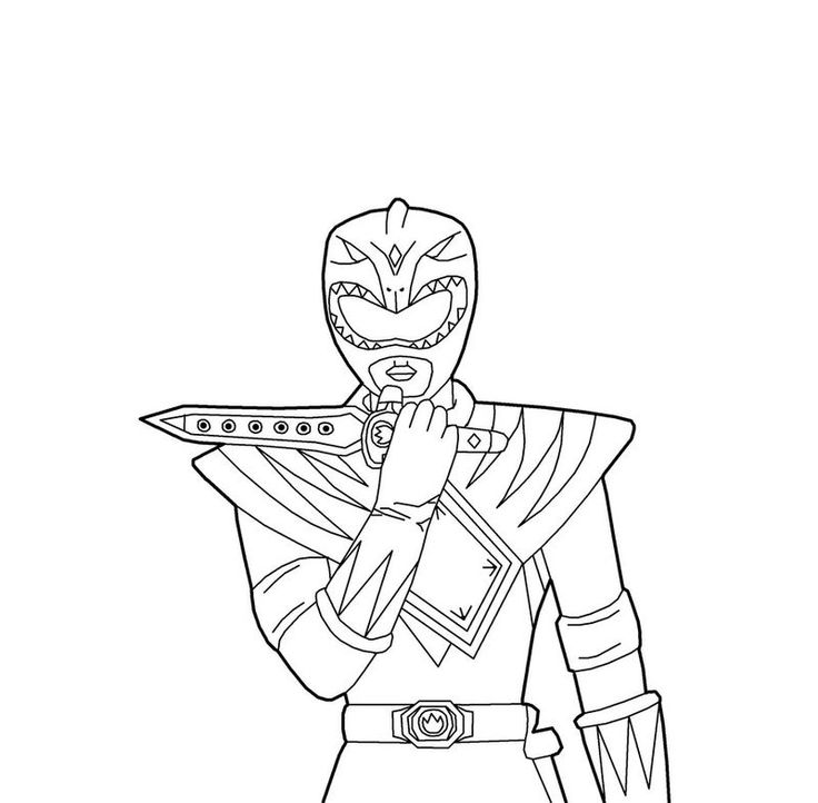 Power Rangers Coloring Pages Ninja Steel. Choose the right ...