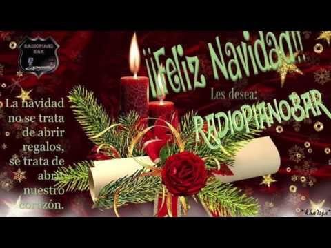 SALUDO DE NAVIDAD PARA RADIO PIANO BAR