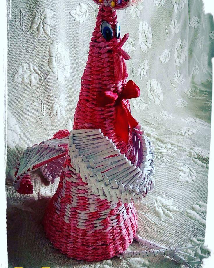 Моя креативная идея к новому году!)Петя петушок-золотой гребешок!)