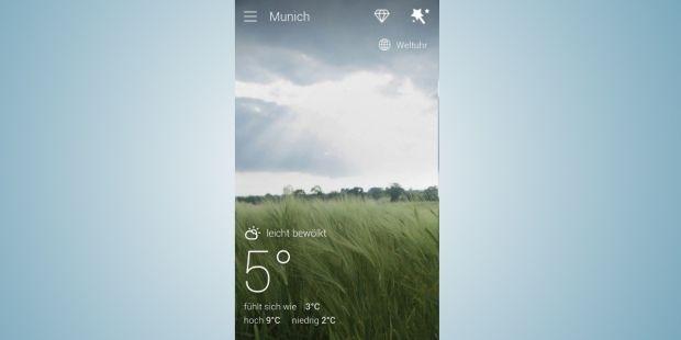 Go Wetter Vorhersage & Widgets