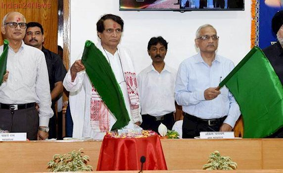 Naharlagun-Guwahati Shatabdi Express flagged off