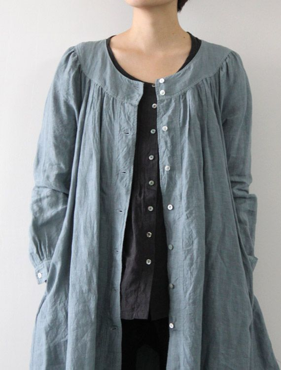 [Envelope Online Shop]Michaela. Where might I find Japanese clothing patterns like this dress coat? It is just stunning.