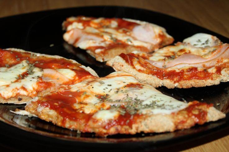 """Przepis na ciasto do pizzy a""""la Dukan"""