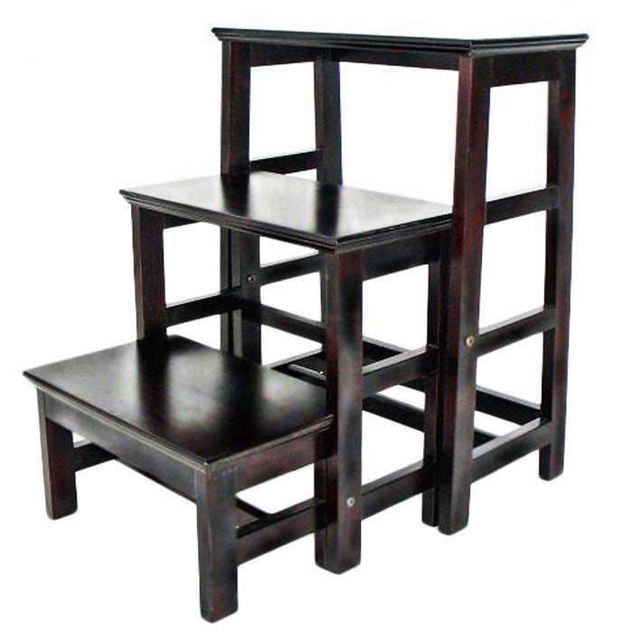 3-Step Bass Wood Retractable Step Stool with 200 lb. Load Capacity  sc 1 st  Pinterest & The 25+ best 3 step stool ideas on Pinterest   Kids stool Kids ... islam-shia.org