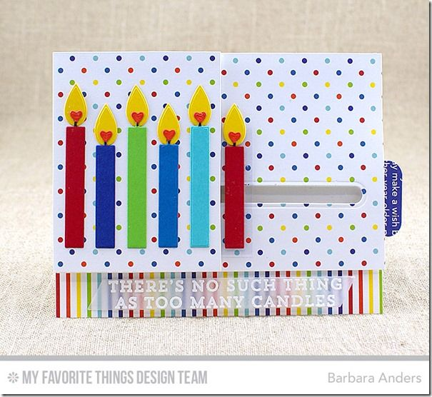 slide out birthday card