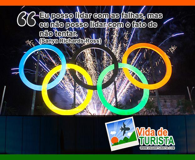 Na semana de abertura dos Jogos Olímpicos Rio 2016, nossa frase de inspiração da semana vem de uma atleta super vitoriosa. #frases #inspiracao #motivacao #rio2016 #olimpiadas