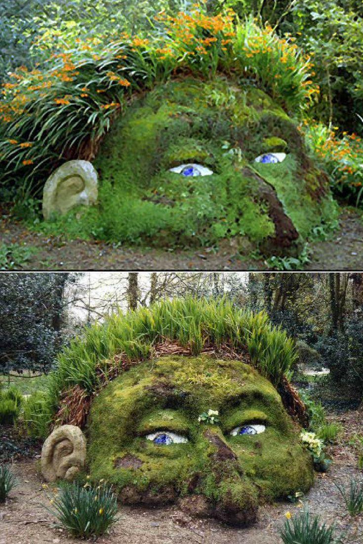 A Gnome In Your Garden 1001 Gardens Lost Gardens Of Heligan Lost Garden Fun Garden Projects