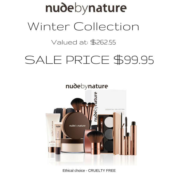 WINTER COLLECTION NUDE by NATURE