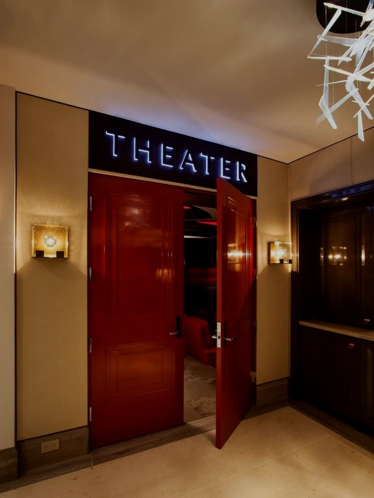 David Hamm Saved To Media Room Man Cave In My Dream Homepin74home Theater Des