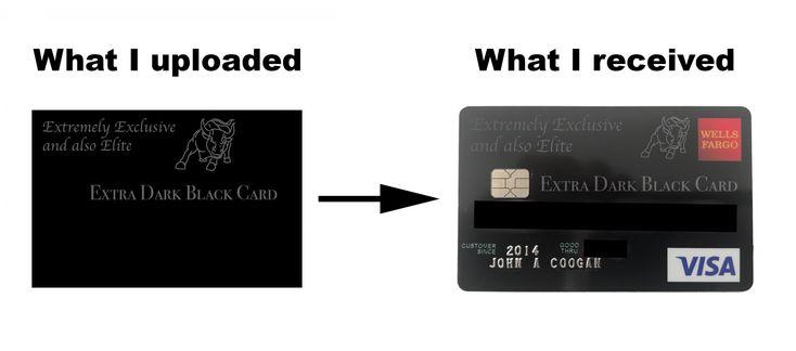 custom credit card wells fargo