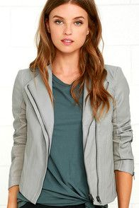 The Mink Pink Now or Never Rust Orange Suede Jacket will add just the right amount of edge to your look! Super soft (and stretchy!) vegan suede jacket has a classic moto look featuring a gunmetal asymmetrical zip front, epaulettes, decorative snap pockets, and horizontal zip pockets. Long sleeves with zipper cuffs.