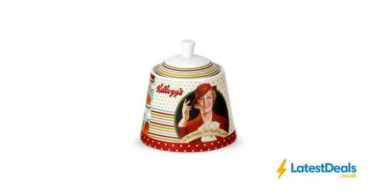 Portmeirion Kellogg's Sugar Bowl with Lid, £3.60 at Argos