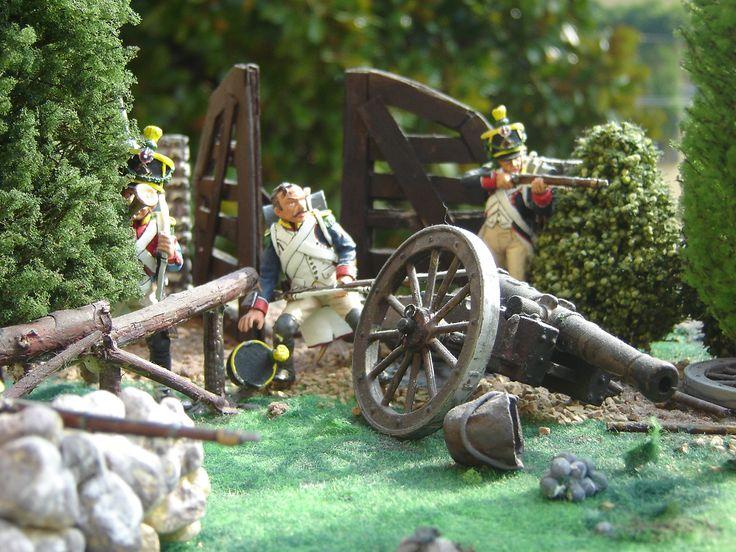 Voltigeurs e Glasgow Highlanders - Waterloo 18 giugno 1815