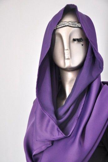 Snood Tajima Cavalli- Deep Purple - Snoods - Online Collection | Online Hijab Store in Singapore| Shawl | Hoodies | Hijabfashion|