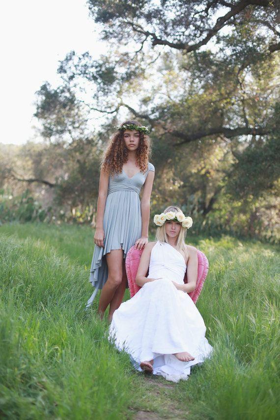 Octopus Infinity Wrap Lace Wedding Dress w/Train by CoralieBeatrix ...