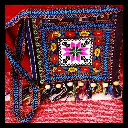 Maramures. Hand crafted bag.