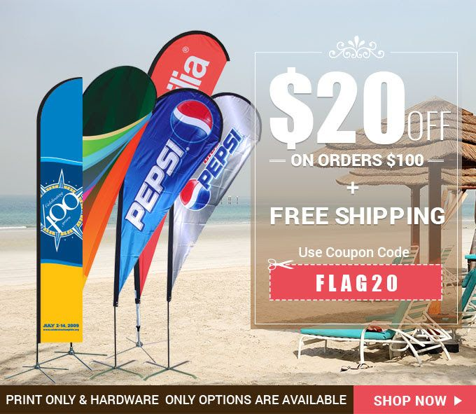 12 best banner buzz discount offers images on pinterest banner canada day offers on flags 20 off on orders 100 free shipping on flags feather fandeluxe Images
