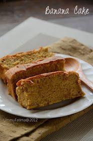 banana cake no food additive