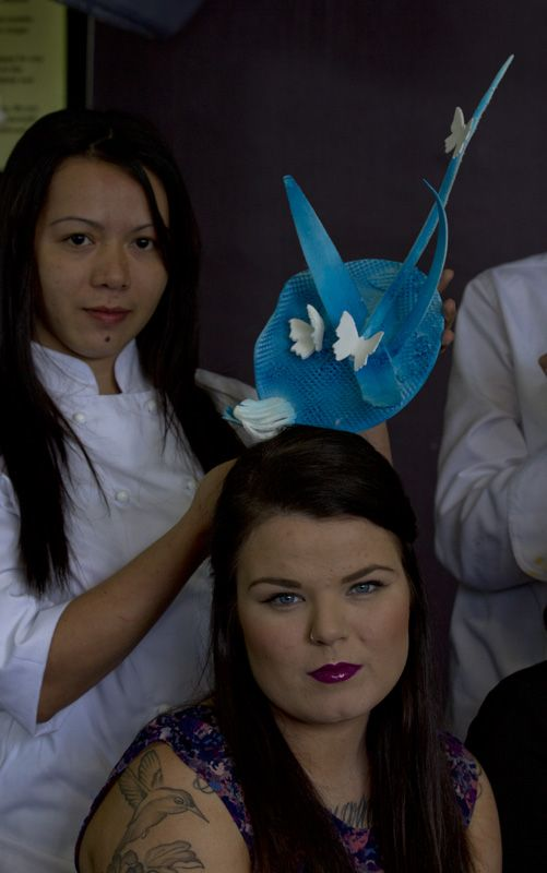 Amazing spring carnival icing hat! Joint effort between our hospitality and make up students. Learn how - www.chisholm.edu.au