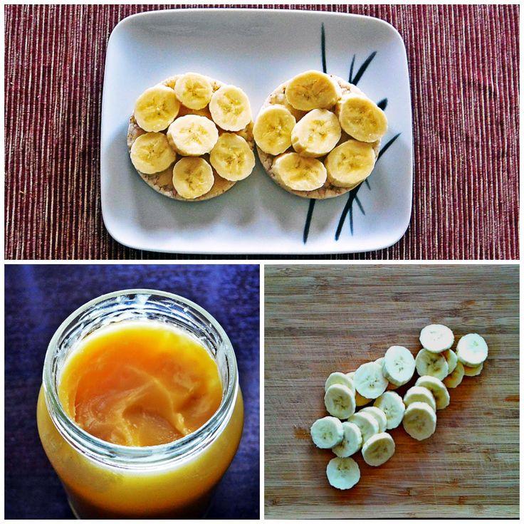 Składniki do wafli z bananami