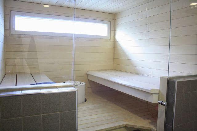 villa Luhta: sauna