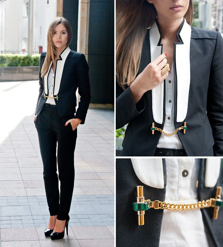 "Designer suits for women make you look cool! | If eminent career sites give advice on wearing ""safe"" clothes – aka suits – to interviews, and the science of power dressing is officially proved, then why we're still so reluctant to wear suits just like everyday?In this post you'll see how freaking cool you look in one of the following designer suits for women!"