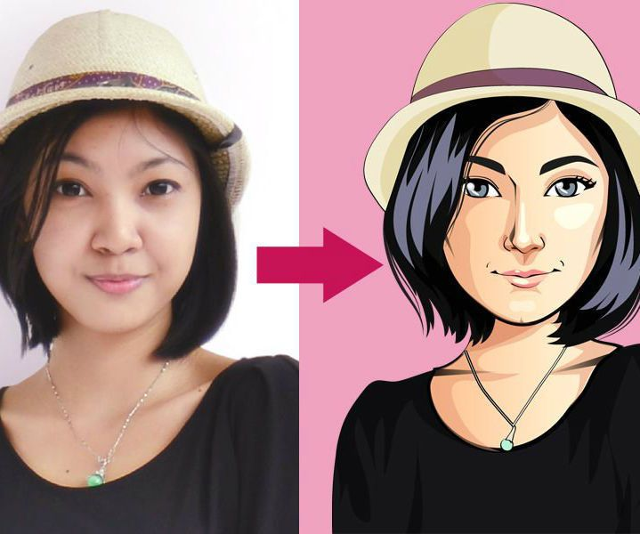 Using a cartoon avatar as profile picture on social network like Facebook and Twitter is fun and interesting way to stay among friends. But how to make a cartoon of yourself? I guess you have tough that the process is hard and need refined skills and talent.Well, here are instructions from Digital Cartoons, how they make every single cartoon for their costumers: