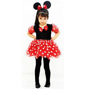 Mini Balerin Çocuk Kostümü 7-9 Yaş, minnie mouse doğum günü kıyafetleri