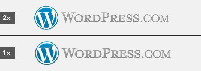 WordPress.com añade soporte para pantallas Retina