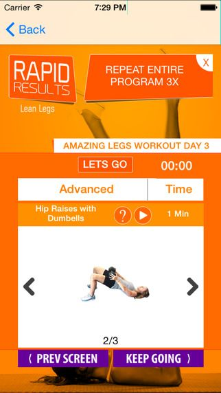 21 day leg workouts plan: fitness trainer leg workouts to get tone & sexy legs by The Body Studio Corp