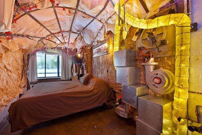 ¿Genialidad o locura? Un apartamento steampunk en Manhattan · Genius or crazy? A steampunk apartment in NYC