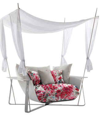 A Canopy Chair | 32 Outrageously Fun Things You'll Want In Your Backyard This Summer