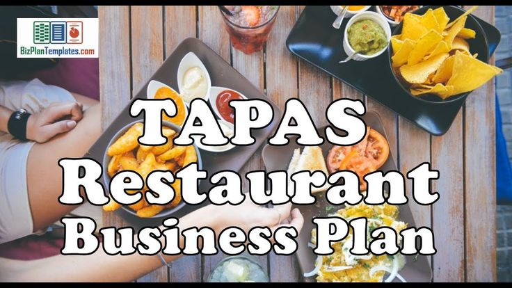 TAPAS RESTAURANT BUSINESS PLAN - Template with Example & Sample