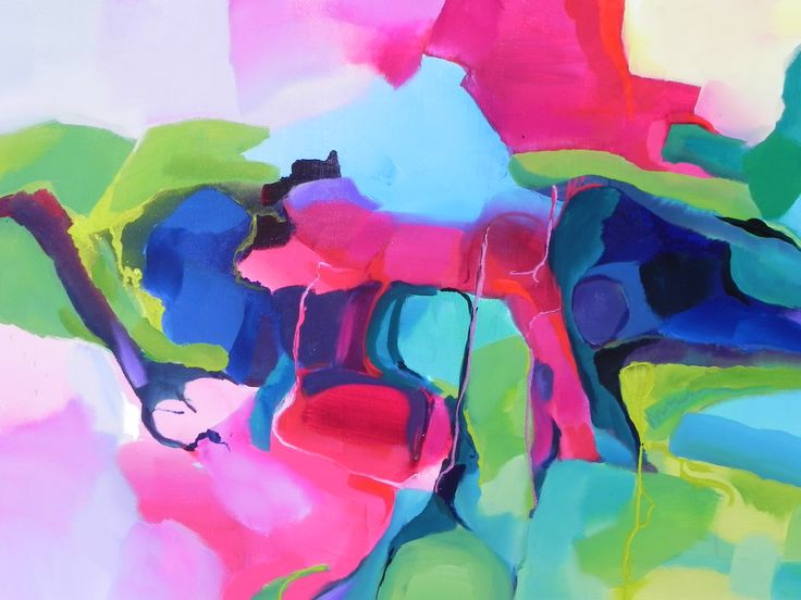 Beautiful Abstract by Diane Elsden - see it in an upcoming editorial in Queensland Homes Magazine
